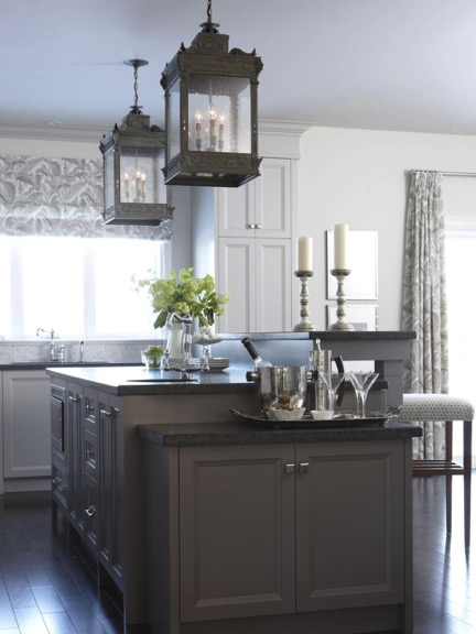 Attirant Grey Kitchen