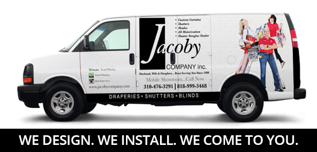 WE DESIGN. WE INSTALL. WE COME TO YOU