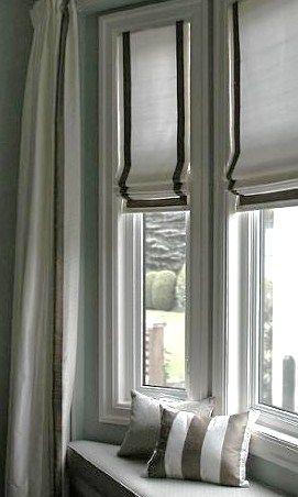 Everyone Loves An Edgy Roman Custom Window Treatments By